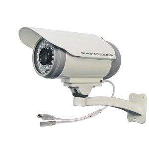 SDカード録画 防犯カメラ 【SDカードで録画】初心者でも10分で設置可能/録画機不要で日本語マニュアル付 XV_SYOSDC-001 (赤外線暗視機能付)(監視カメラ)