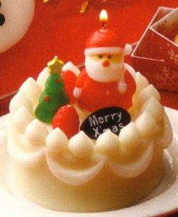 クリスマスデコケーキ サンタ