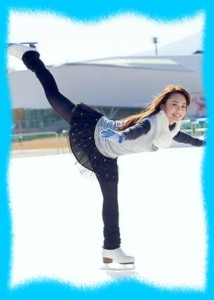 滝裕可里のフィギュアスケートの画像