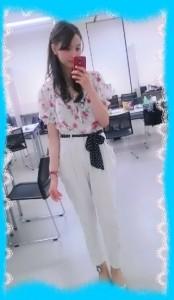 高田有紗の私服画像1