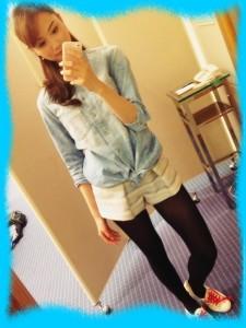 高田有紗の私服画像2