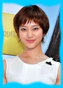 武井咲のショートの髪型画像
