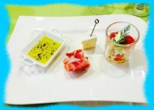 牧野結美の実家での食事の画像2