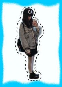 小松菜奈の私服画像1