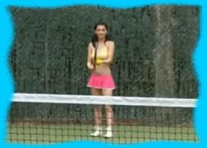 倉科カナのテニス画像