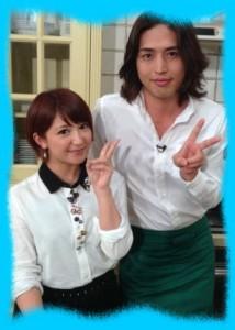 有坂翔太と矢口真里の画像