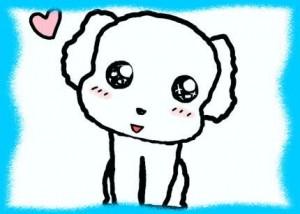 白い犬の画像