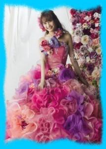 大政絢のウェディングドレス画像1