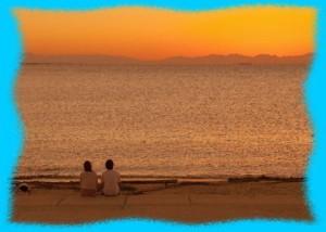 ハワイの海辺イメージ画像