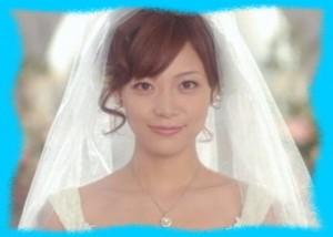 相武紗季のウエディングドレス姿の画像1