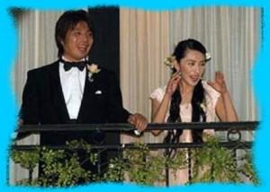 奥菜恵と藤田晋の結婚式の画像
