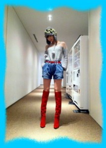 篠田麻里子の私服画像1