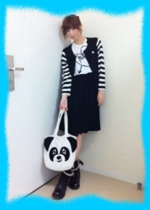 篠田麻里子の私服画像2