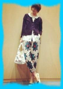 篠田麻里子の私服画像3