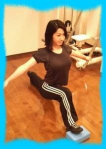 柳沼淳子のはちきれそうなトレーニング画像1