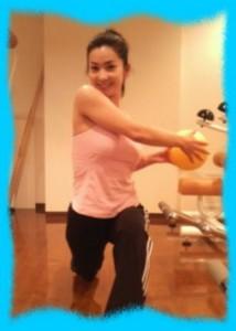 柳沼淳子のはちきれそうなトレーニング画像2