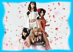 芳賀優里亜の赤×ピンクの画像2