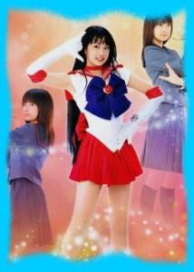 北川景子のセーラーマーズ画像