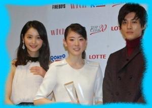 小林京香と佐々木希の画像